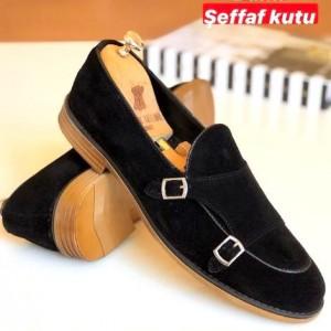Siyah Süet Ayakkabı - A 178