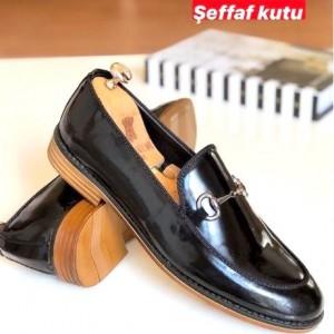 Siyah Rugan Ayakkabı - A 205