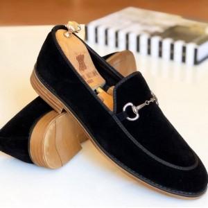 Siyah Süet Ayakkabı - A 200