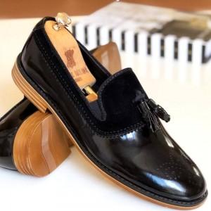Siyah Rugan - Süet Ayakkabı - A 951