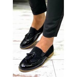 Siyah Rugan Ayakkabı - A 195