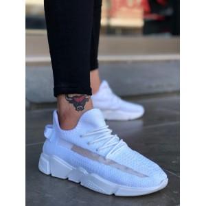 Erkek Spor Ayakkabı Beyaz BA0131b