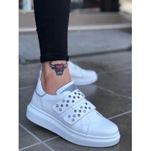 Erkek Spor Ayakkabı Beyaz BA0136b