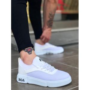Erkek Spor Ayakkabı Beyaz BA098b