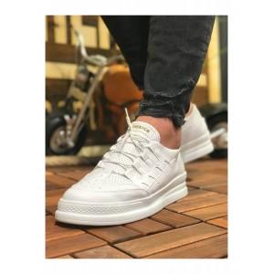 Erkek Spor Ayakkabı Beyaz CH040BTB