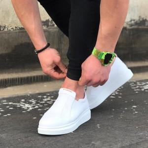 Erkek Spor Ayakkabı Beyaz W049b