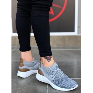 Erkek Spor Ayakkabı Gri BA001g