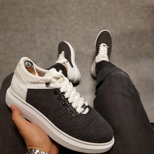 Erkek Spor Ayakkabı Gri W047g