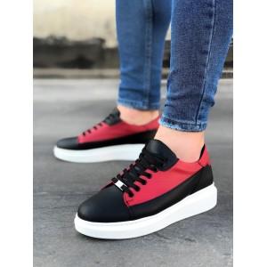 Erkek Spor Ayakkabı Kırmızı W028k