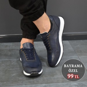 Erkek Spor Ayakkabı Lacivert DW002