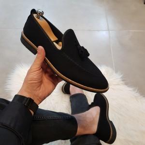 Siyah Süet Ayakkabı - OLD 4051