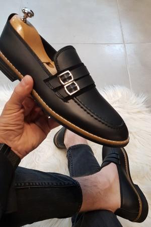 Siyah Cilt Ayakkabı - OLD 4141