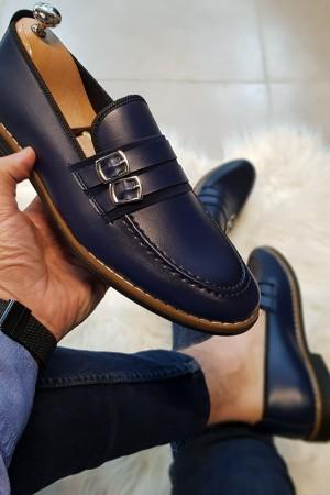 Lacivert Cilt Ayakkabı - OLD 4142