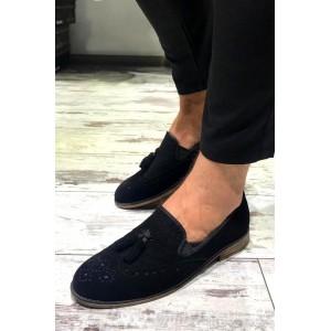 Siyah Süet Ayakkabı - A 191