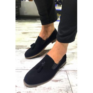 Siyah Süet Ayakkabı - A 192