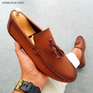 Taba Kareli Ayakkabı - OLD 5221