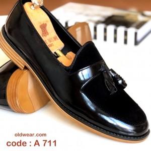 Siyah Rugan Ayakkabı - A 711