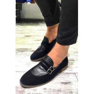 Siyah Süet Ayakkabı - A 128