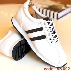 Beyaz Cilt Spor Ayakkabı - AS 002