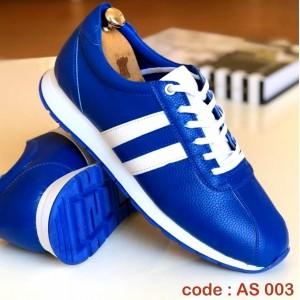 Mavi Cilt Spor Ayakkabı - AS 003